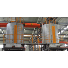 forno de endurecimento de liga de alumínio vertical