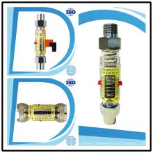 Horizontaler oberer und unterer Alarmschalter Grenzwert Wasser Rota Meter Flow Meter