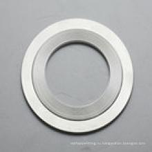 Нержавеющей стали 316L зубчатые прокладки/Гребенчатые прокладки с наружным кольцом