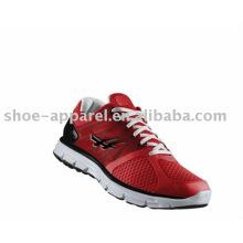 Dernières chaussures de course de mode avec maille rouge pour les hommes