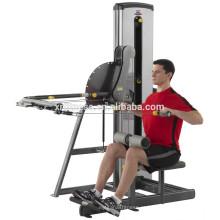 Equipamentos de ginástica multifuncionais Lat & Row Machine em um
