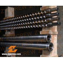 Plastic Recycle Machinery Bimetallic Single Screw (ZYE198)