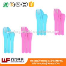 Moule de coutellerie en plastique personnalisé OEM / conception personnalisée