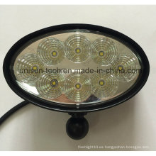 "12V-24V 6 ""Oval 40W CREE LED Trailer Luz"