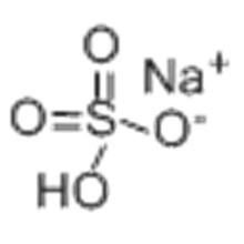 Bisulfato de sodio CAS 7681-38-1