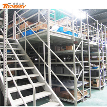 Industrial multi level q235 steel grading mezzanine floor platform