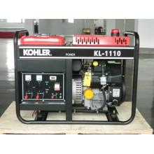 8kw generador de gasolina de marco abierto portátil