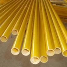 Produk Fiberglass Tabung Pultrusion FRP Round Tube