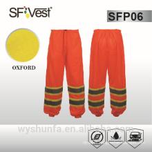 ANSI/ISEA traffic warning clothing work pants reflective with pocket