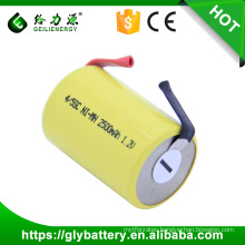 Geilienergy Deep Cycle Rechargeable 1.2V NIMH 4/5SC Battery With Tabs