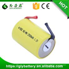 Bateria Recarregável 1.2V NIMH 4 / 5SC do ciclo profundo de Geilienergy com abas