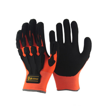 NMSAFETY labour supply hand impact work glove
