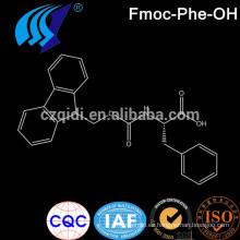 CPhI Intermediarios Farmacéuticos Fmoc - Aminoácido Fmoc - Phe - OH / Fmoc - 1 - fenilalanina Cas No.35661 - 40 - 6