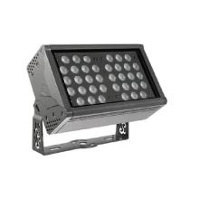 Светодиодный прожектор RGB с управлением по DMX для установки вне помещений