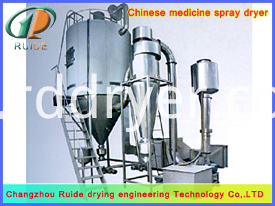 Plant protein spray drying tower