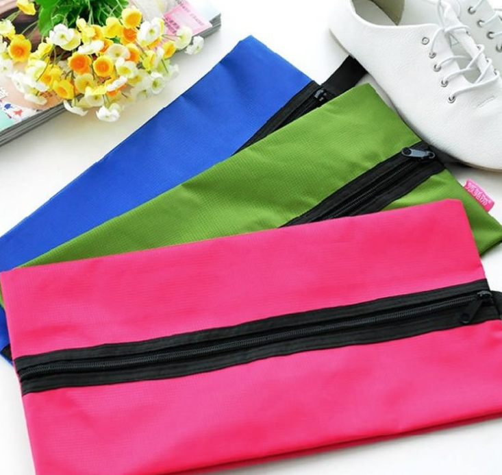 Nylon Shoe Zipper Bag