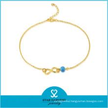 2015 Most Popular Handmade Silver Beads Bracelet (J-0227A)