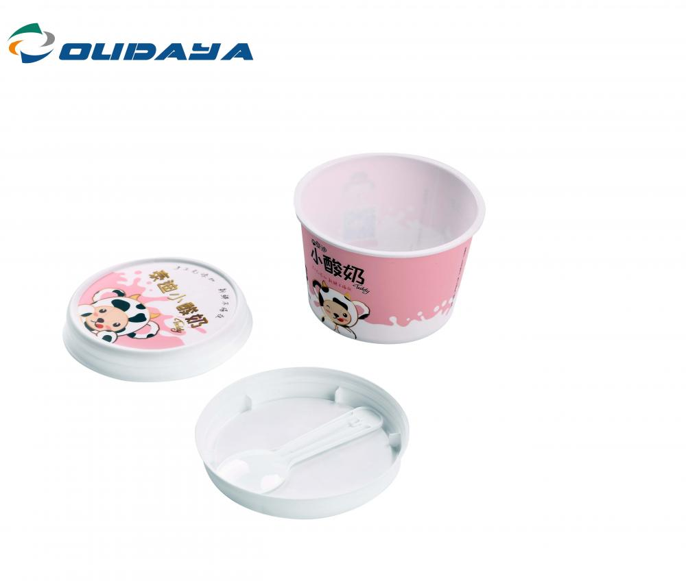 150ml Cup With Lid And Spoon