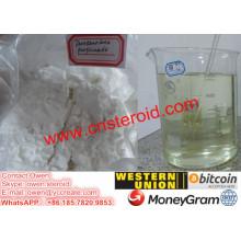 Poudre pure de propionate de Drostanolone pure prémélangée Masteron 100mg