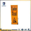 Portable aluminum bright LED traffic warning sign board