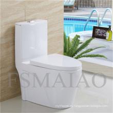 Baño de baño de artículos sanitarios Sanitario de una pieza de cerámica Siphonic (8106)