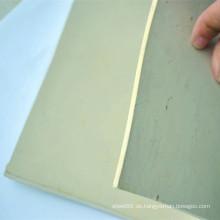 Heißer Verkauf weiße Farbe Gummi Blatt Gummi Pad Rubber Plate
