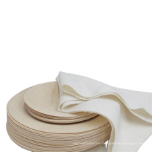 hot sale bamboo plates disposable for house party supplies