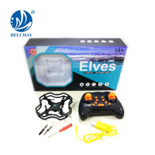 Venta caliente! 2.4G 4CH 6 eje Gyro Mini anti-interferencia RC Quadcopter Modo sin cabeza