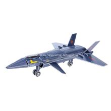 Rompecabezas del avión 3D J-20 Stealth