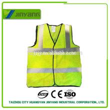 chaleco de seguridad reflectante de malla puede insignia de la impresión pointted