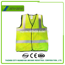 mesh reflective safety vest can printing pointted logo