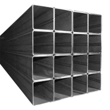 25x25 40x40 50x25 black hollow square and rectangular welded steel tube mild ms square steel