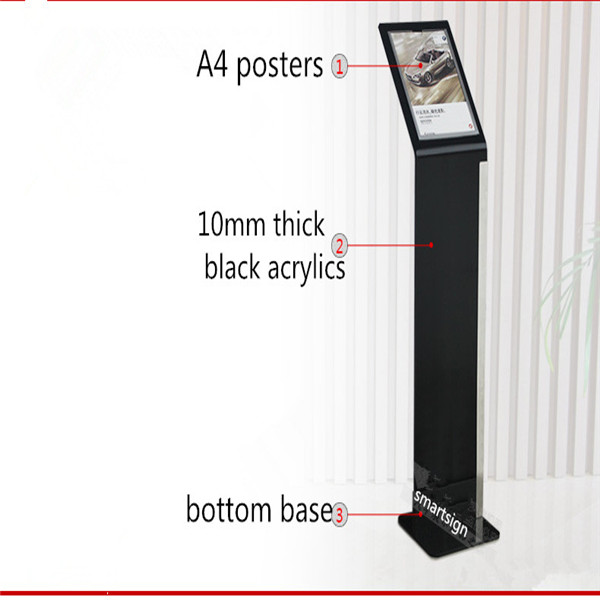a4 poster holder freestanding
