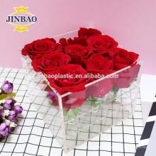 Jinbao acrylic boxes wholesale display 3mm transparent