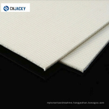 White Wool / Silicone Gel Laminating Pad for PVC Card