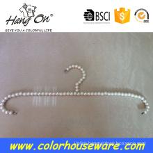 adult pearl plastic hanger for clothes hanger