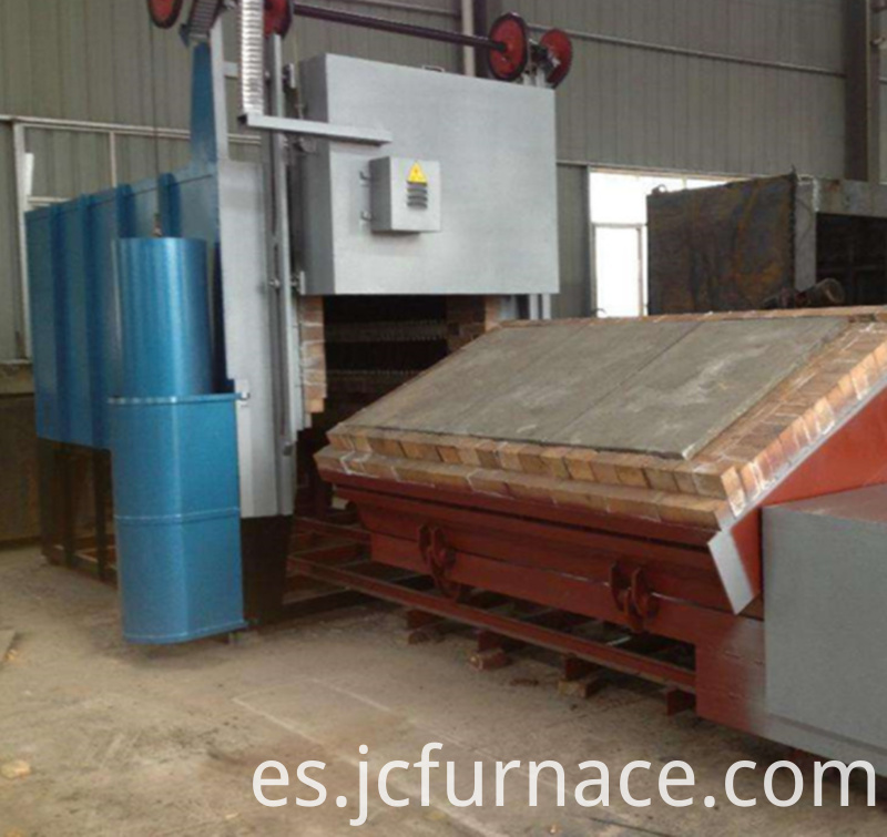 Trolley quenching furnace acceptance