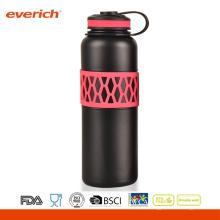 Couleur personnalisée Acier inoxydable Belle vase Vaccum Double bouteille d'eau murale