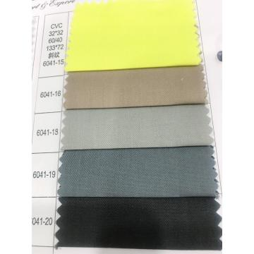 32s * 32s 60/40 133 * 72 CVC Twill Dyed Fabric