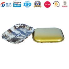 Plateau en métal de cigarette de rectangle pour les adultes Jy-Wd-2015120101
