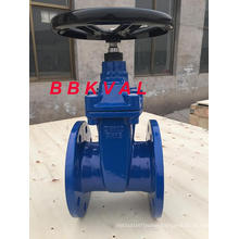Ductile Iron Rubber Seated Resilient Seated Gate Valve Non Rising Stem Wras Approved