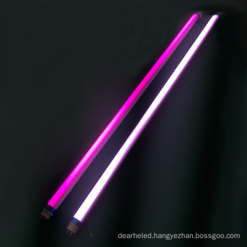 Customize T8 Special Color Pink Tube Meat LED Lightfor Super Market Lighting and Circuitry Design Aluminum ROHS Residential Saa