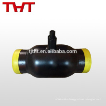 welding standard eue ball valve manufacturer specially for heating