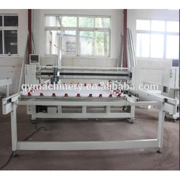 Machine complète de matelassage de matelas industriel de mouvement, machine de courtepointe unique informatisée
