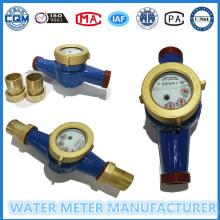 Gusseisen Material Wasserzähler für die Rücksetzverwendung