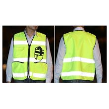 Reflective cycle vest