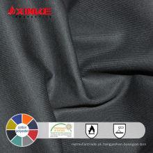 algodão / poliéster fogo retardante tecido spandex para vestuário de trabalho