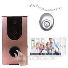 High qualty WIFI doorbell camera with Indoor Dingdong support cloud storage wireless video door phone