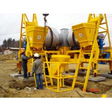 Planta mezcladora de asfalto simple 80t / H