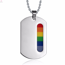 Fashion Costume Gay Store Rainbow Simple Pendant Jewelry